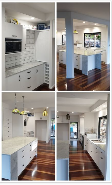 How lush does this Kitchen look!? A recent renovation we ...